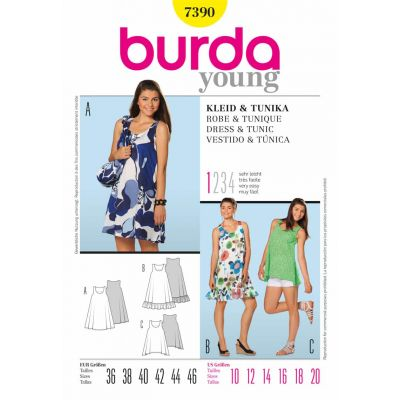 Burda Sewing Pattern - 7390