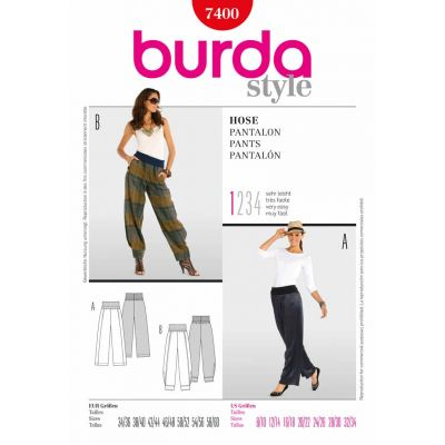 Burda Sewing Pattern - 7400
