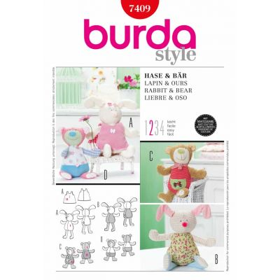 Burda Sewing Pattern - 7409