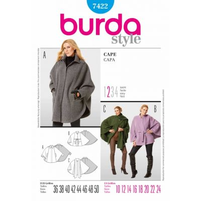 Burda Sewing Pattern - 7422