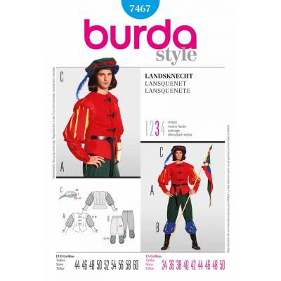 Burda Sewing Pattern - 7467