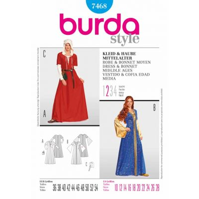 Burda Sewing Pattern - 7468