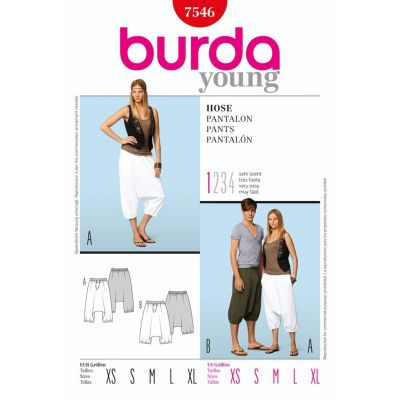 Burda Young Sewing Pattern - 7546