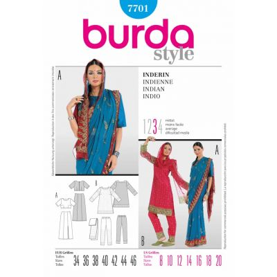 Burda Sewing Pattern - 7701