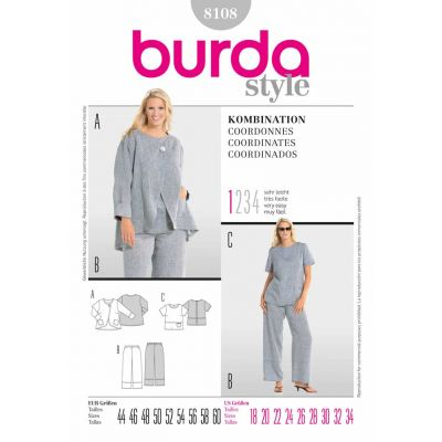 Burda Sewing Pattern - 8108
