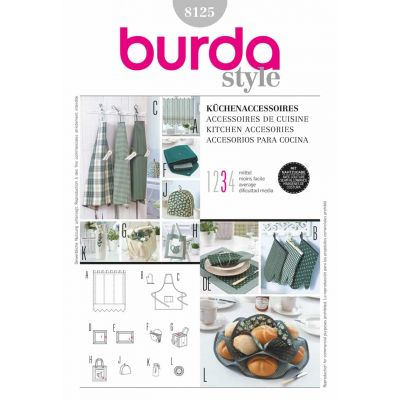 Burda Sewing Pattern - 8125