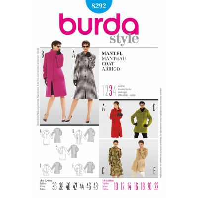 Burda Sewing Pattern - 8292