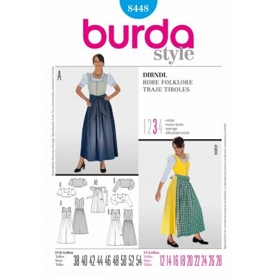 Burda Sewing Pattern - 8448
