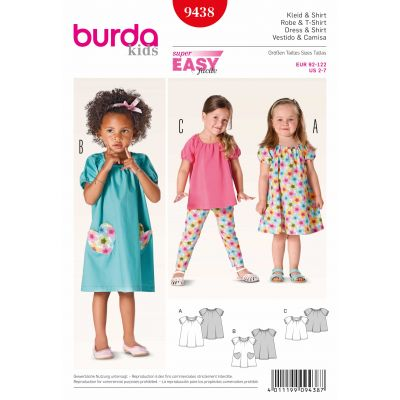 Burda Sewing Pattern - 9438