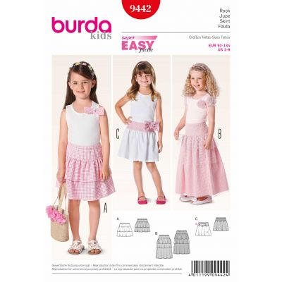 Burda Sewing Pattern Easy - 9442