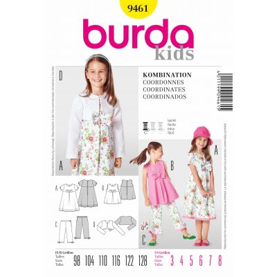 Burda Sewing Pattern - 9461