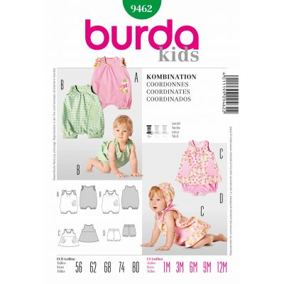 Burda Sewing Pattern - 9462