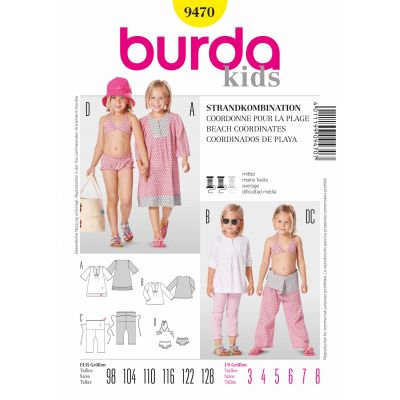 Burda Sewing Pattern - 9470
