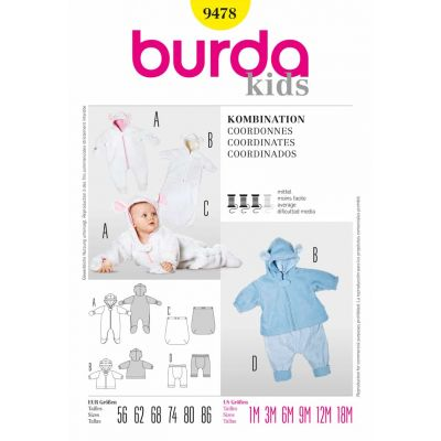 Burda Sewing Pattern - 9478