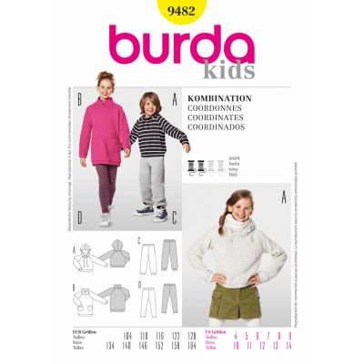 Burda Sewing Pattern - 9482