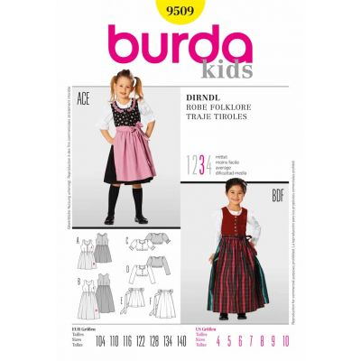 Burda Sewing Pattern - 9509
