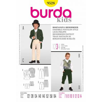 Burda Sewing Pattern - 9528