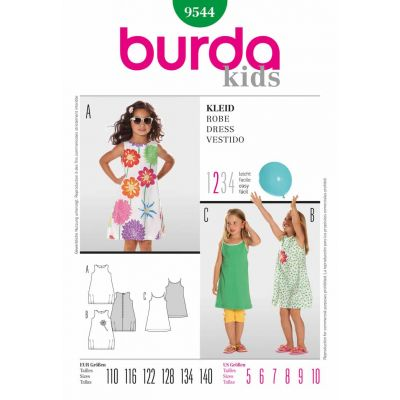 Burda Sewing Pattern - 9544