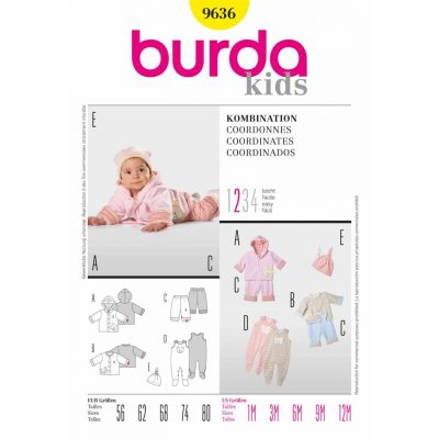 Burda Sewing Pattern - 9636