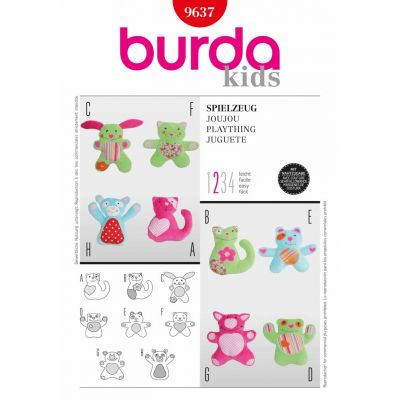 Burda Sewing Pattern - 9637