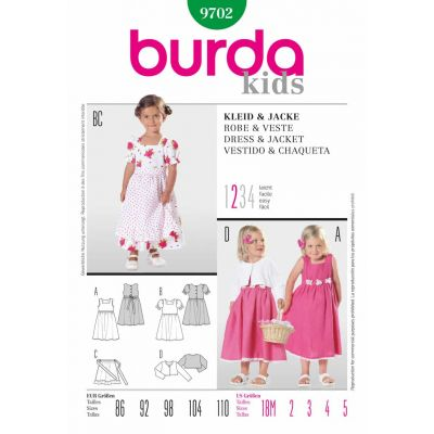 Burda Sewing Pattern - 9702