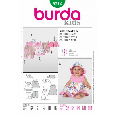 Burda Sewing Pattern - 9712
