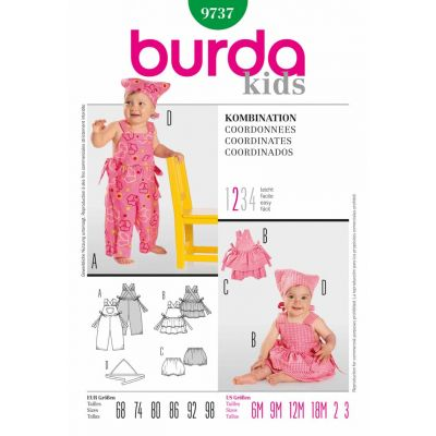 Burda Sewing Pattern - 9737