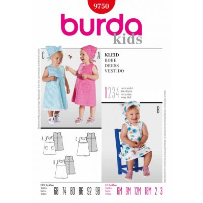 Burda Sewing Pattern - 9750
