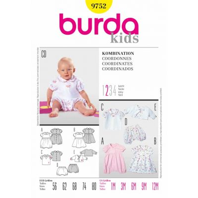 Burda Sewing Pattern - 9752