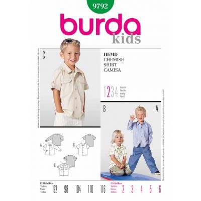 Burda Sewing Pattern - 9792