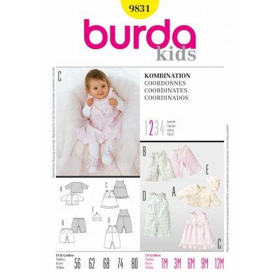 Burda Sewing Pattern - 9831