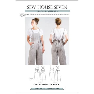 Sew House Seven -  Burnside Bibs Pattern