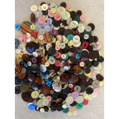 Remnant - Mixed Buttons - Lucky Dip - 350gm approx