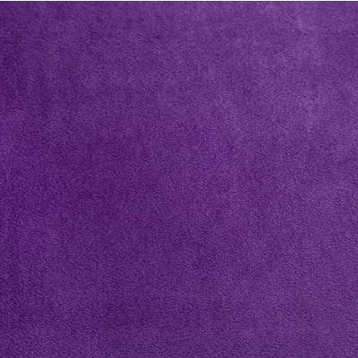 Remnant -Shannon - Smooth Cuddle Plush Fabric - Amethyst - 25cm x 50cm