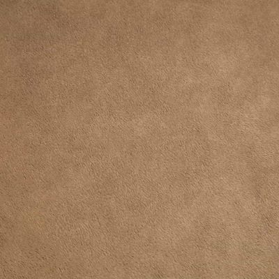 Remnant -Shannon - Smooth Cuddle 3 Plush Fabric - Taupe - 130 x 150cm - Bolt End
