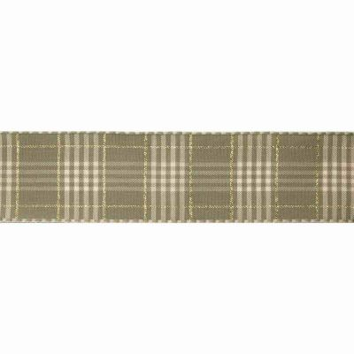 25mm Rustic Plaid Cloudy Ribbon 3m Reel