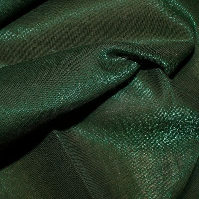 Christmas Cotton Green With Shimmer