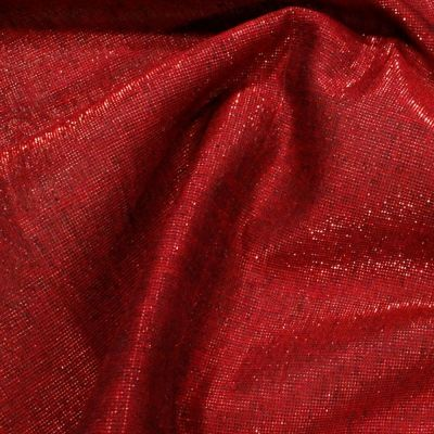 Christmas Cotton Red With Shimmer