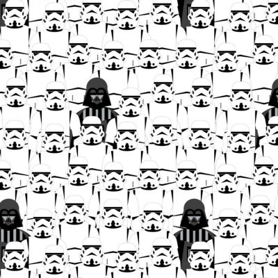 Camelot - Star Wars - Storm Troopers White