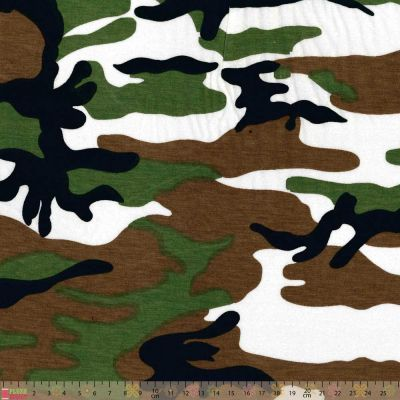 Cotton Jersey - Camouflage
