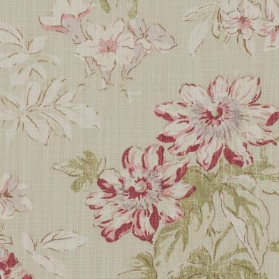 Porter & Stone - Campagna - Rose - Curtain Fabric