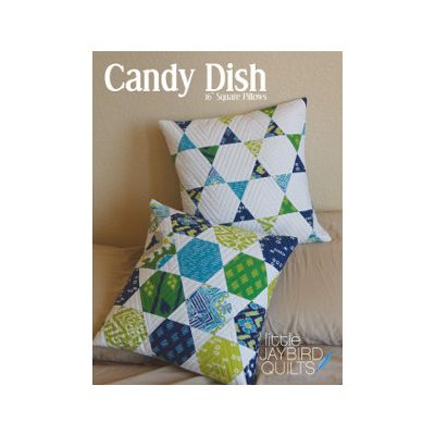 Jaybird Quilt Patterns - Candy Dish Quilt Pattern
