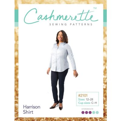 Cashmerette Sewing Patterns - Harrison Shirt Dressmaking Pattern