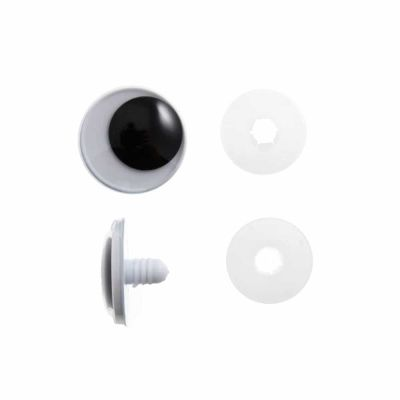 Toy / Craft Safety Googly Eyes: 12mm - 6 Per Pack