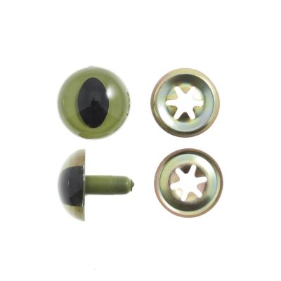Toy / Craft Safety Cats Eyes: 15mm - 4 Per Pack