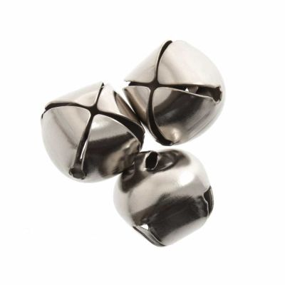 Bells: Silver 6mm - Pack of 10