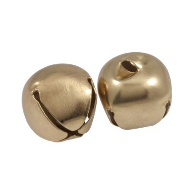 Gold Jingle Bells 30mm - 2 Pack