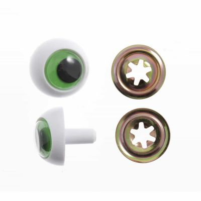 Toy / Craft Safety Frogs Eyes: 24mm - 2 Per Pack