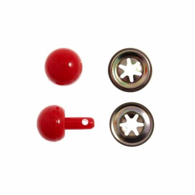 Toy / Craft Red Noses: 15mm - 5 Per Pack