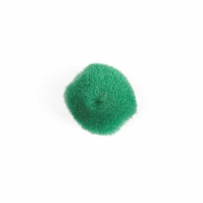 Pom Poms 25mm - Green - 20 Per Pack